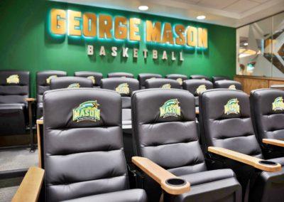 George Mason University Basketball Film Room – Fairfax